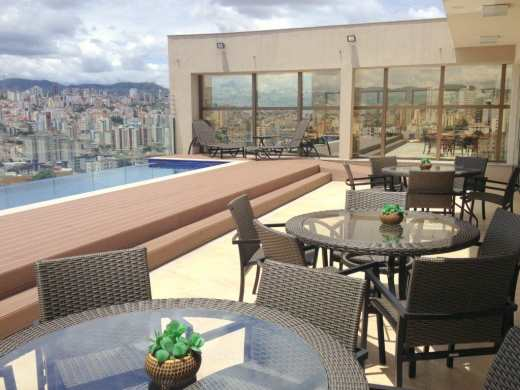 Apart Hotel de 1 dormitório em Jardim America, Belo Horizonte - MG