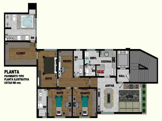 Foto 7 apartamento 3 quartos cidade jardim - cod: 102074