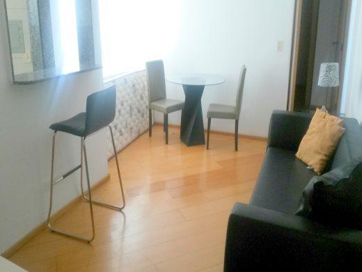 Apart Hotel de 1 dormitório à venda em Lourdes, Belo Horizonte - MG