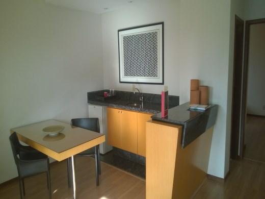 Apart Hotel de 1 dormitório em Funcionarios, Belo Horizonte - MG