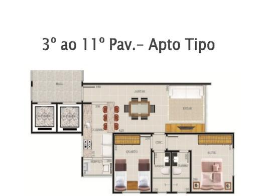 Cobertura de 2 dormitórios em Sao Pedro, Belo Horizonte - MG