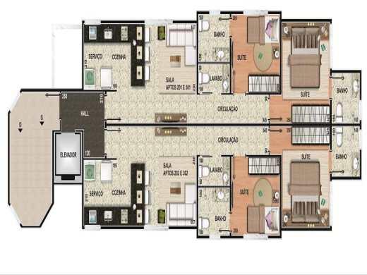 Apto de 2 dormitórios à venda em Anchieta, Belo Horizonte - MG