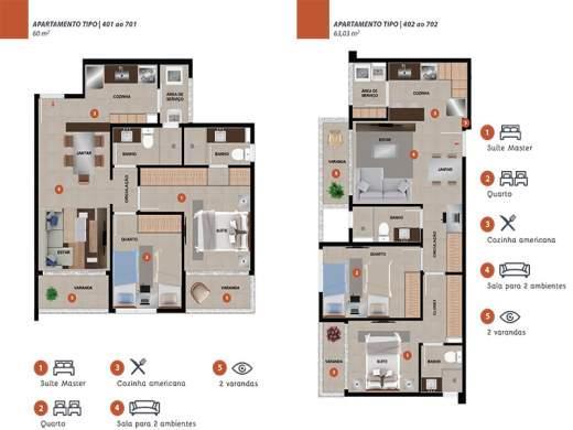 Foto 6 cobertura 2 quartos nova granada - cod: 108485