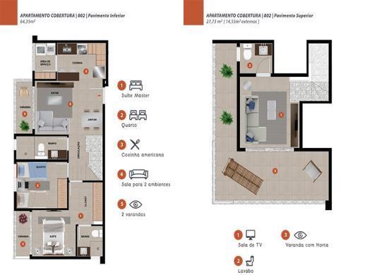 Foto 8 cobertura 2 quartos nova granada - cod: 108485