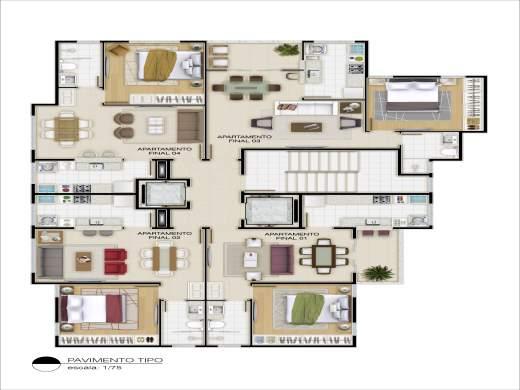 Foto 1 apartamento 1 quarto vila da serra - cod: 109651