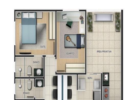 Foto 1 apartamento 2 quartos ouro preto - cod: 11916