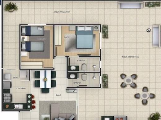 Foto 2 apartamento 2 quartos ouro preto - cod: 11916