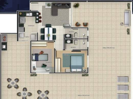 Foto 4 apartamento 2 quartos ouro preto - cod: 11916